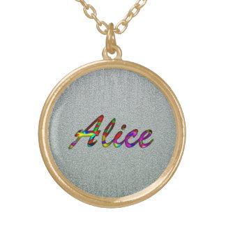 El collar de Alicia