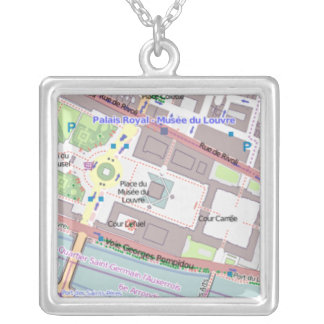 El collar de las mujeres del mapa de París