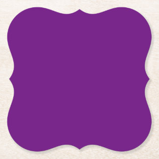 El color AZUL del cambio de la plantilla DIY AÑADE Posavasos De Papel