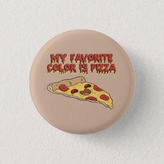 El color preferido es botón de la pizza