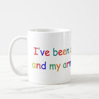 El colorear todo el día taza de café