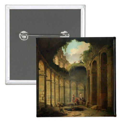 El Colosseum, Roma (aceite en lona) Pin