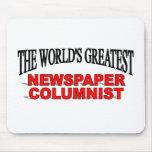El columnista del periódico más grande del mundo tapetes de ratones