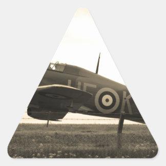 El combatiente revuelto para saca pegatina trianguloada
