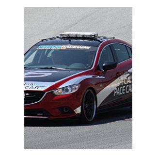 El competir con auto del coche de deportes postal