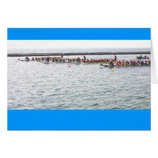 El competir con de BMO Dragonboat Tarjeta De Felicitación