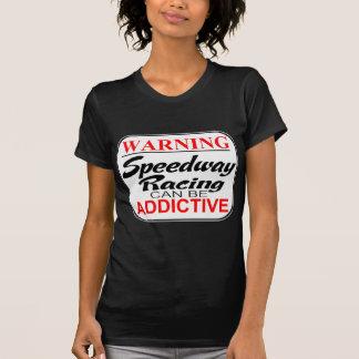El competir con de la motocicleta del carretera camisetas