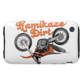 El competir con de la motocicleta iPhone 3 tough carcasa
