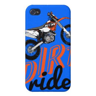 El competir con de la motocicleta iPhone 4 protectores