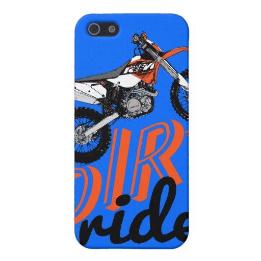 El competir con de la motocicleta iPhone 5 carcasa