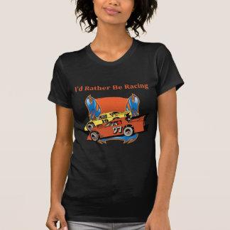 El competir con de stock car camisetas