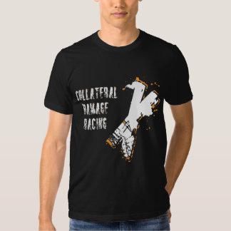 El competir con del daño colateral camiseta