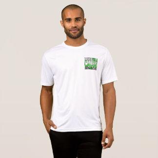El competir con para una camiseta de la causa