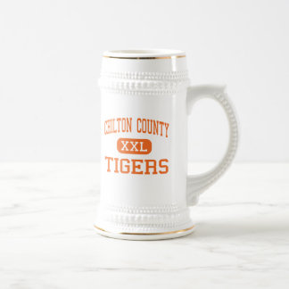 El condado de Chilton - tigres - alto - Clanton Al Jarra De Cerveza