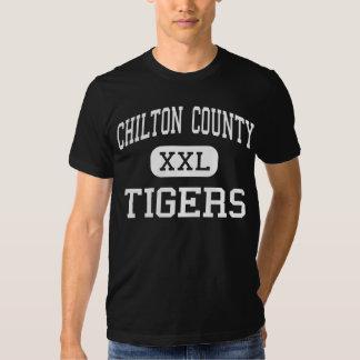 El condado de Chilton - tigres - alto - Clanton Camisas