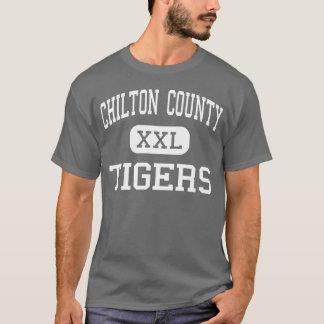 El condado de Chilton - tigres - alto - Clanton Camiseta