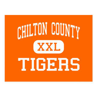 El condado de Chilton - tigres - alto - Clanton Postal