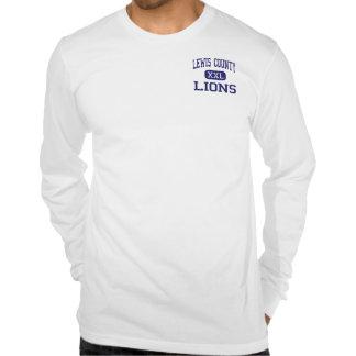 El condado de Lewis - leones - alto - Vanceburg Ke Camiseta