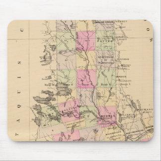 El condado de Penobscot, Maine Alfombrilla De Ratón