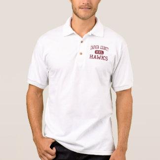 El condado de Zapata - halcones - High School secu Camisetas
