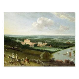 El conde de la casa de Rochester, nuevo parque, Postal