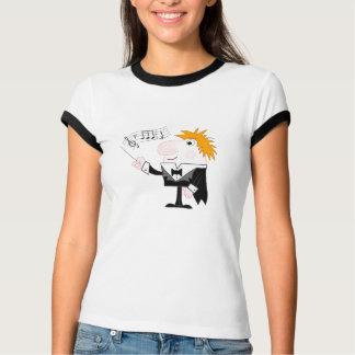El conductor camiseta