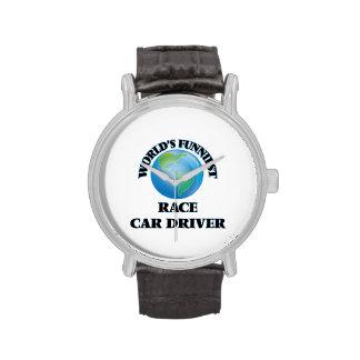 El conductor del coche de carreras más divertido relojes