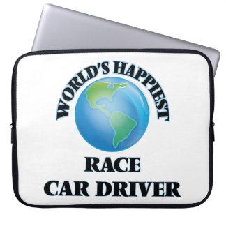 El conductor del coche de carreras más feliz del funda ordendadores