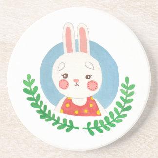 El conejo lindo portavasos