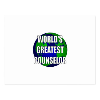 El consejero más grande del mundo tarjetas postales