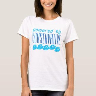 El CONSERVADOR RASGA la camiseta blanca
