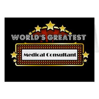 El consultor médico más grande del mundo felicitaciones