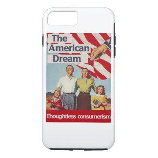El consumerismo imprudente del sueño americano funda iPhone 7 plus