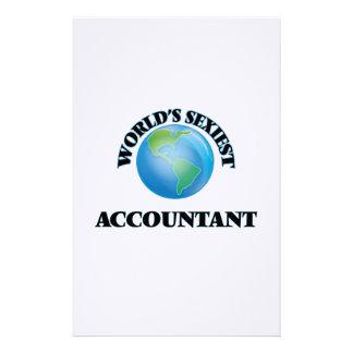 El contable más atractivo del mundo  papeleria de diseño