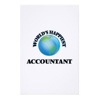 El contable más feliz del mundo  papeleria
