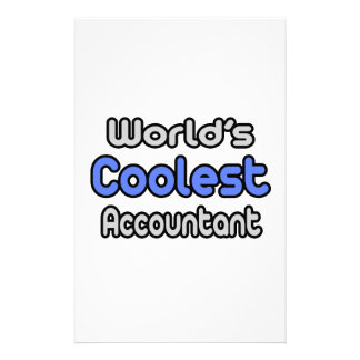 El contable más fresco del mundo papeleria
