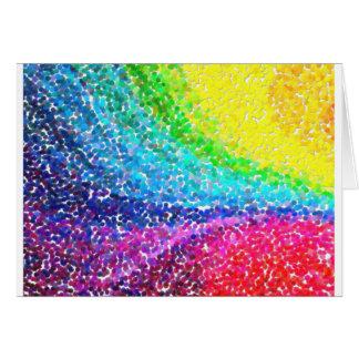 el contemporáneo abstracto no colorea ningún 46 tarjeta