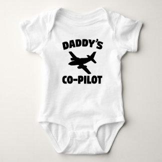 El copiloto del papá body para bebé