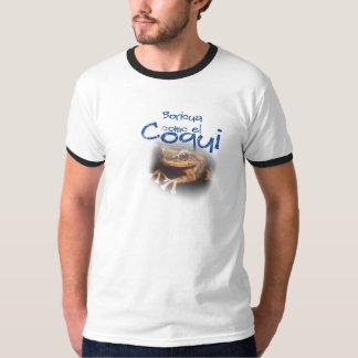 EL Coqui de Boricua Como (puertorriqueño) Camiseta