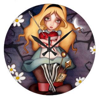 El corazón de Alicia Reloj Redondo Grande
