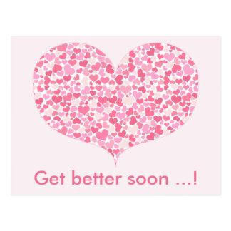 El corazón de corazones el   consigue una mejor postal