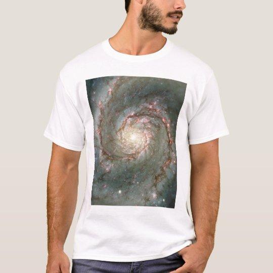 El corazón de la galaxia de Whirlpool Camiseta