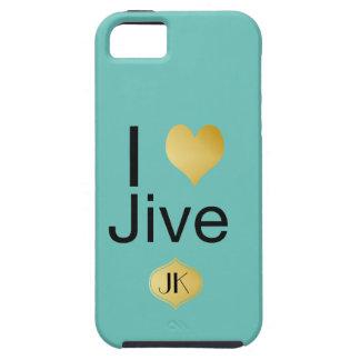 El corazón elegante de I Jive juguetónamente Funda Para iPhone SE/5/5s