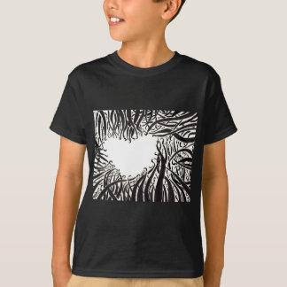 El corazón en los tentáculos camiseta