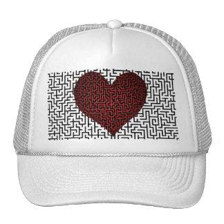 El corazón es un casquillo del laberinto gorro