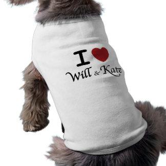 El corazón I y la camiseta del perro de Kate