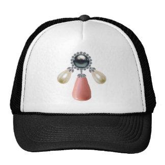 El corchete de la margarita gorras de camionero