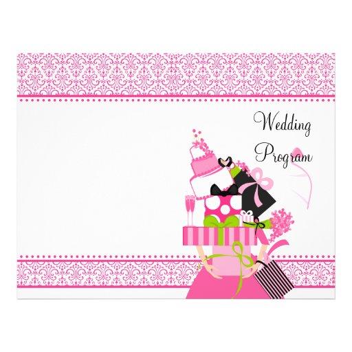 El cordón imposible de la pila del boda tarjetas informativas
