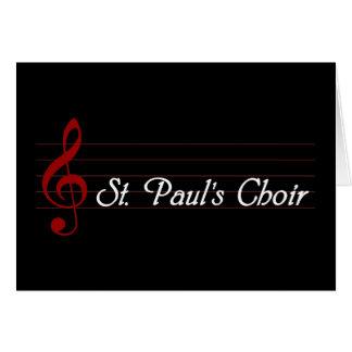 El coro de San Pablo Felicitación