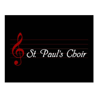 El coro de San Pablo Postales